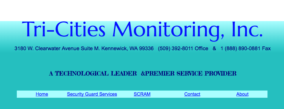 Tri-Cities Monitoring Inc.